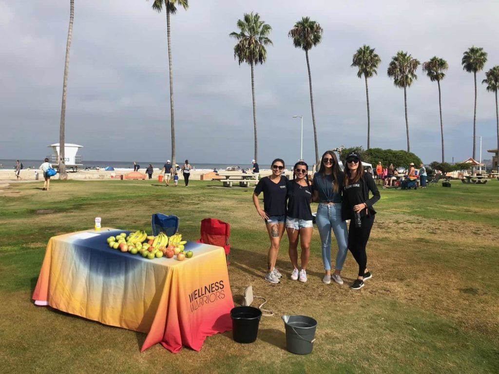 Torrey Holistics at Coastal Cleanup Day 2019.
