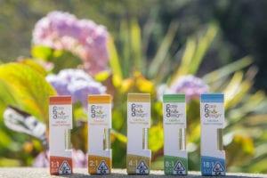 Care By Design's full line of CBD and THC vape cartridges