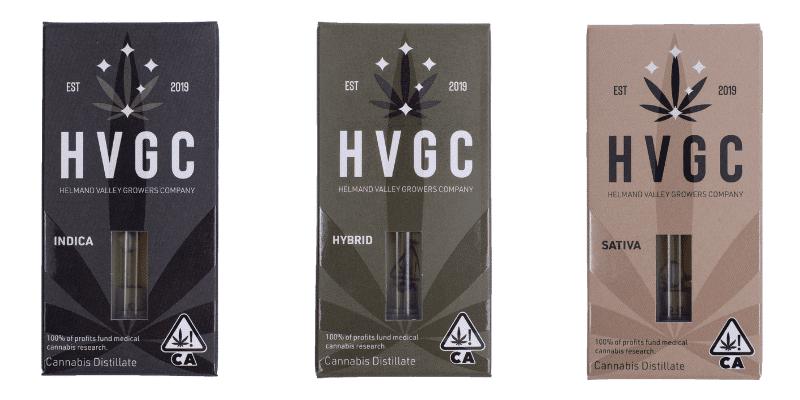 HVGC vape cartridges indica hybrid sativa
