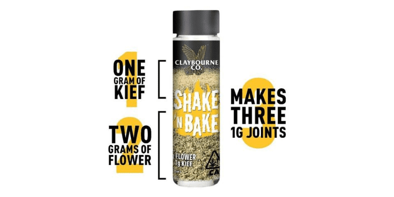 Claybourne Co. Shake 'N Bake tube