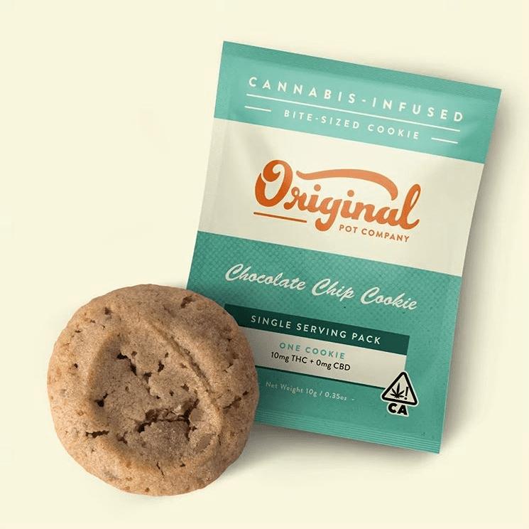The Original Pot Co. single mini-cookie in Chocolate Chip