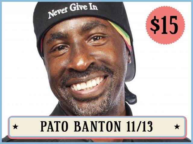 Pato Banton 11/13