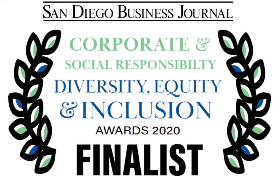 San Diego Business Journal Corporate & Social Responsibility Awards Finalist