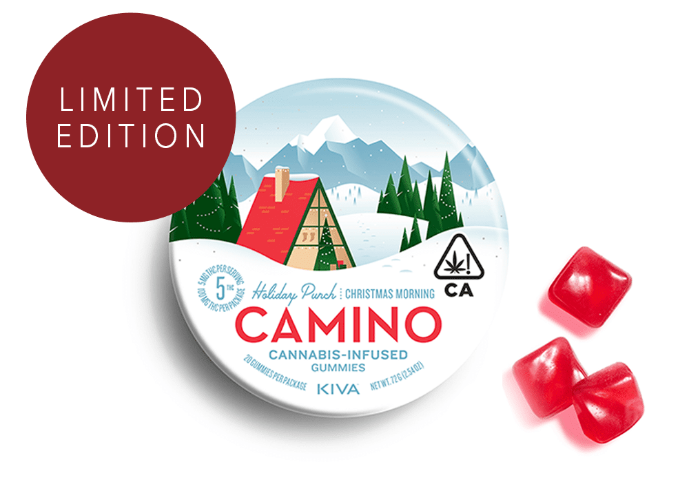 Camino Holiday Punch Gummies - limited edition