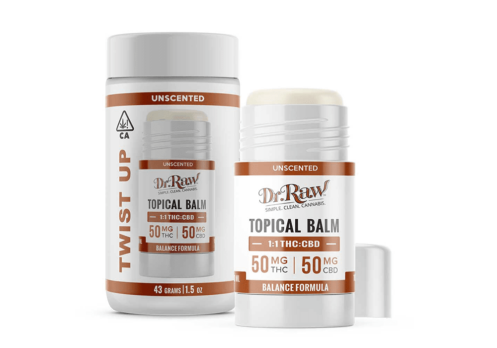 Dr. Raw Topical Twist-Up Balm