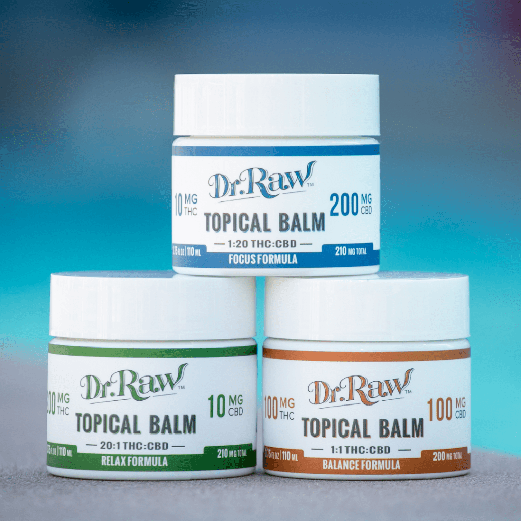 Dr. Raw Topical Balms