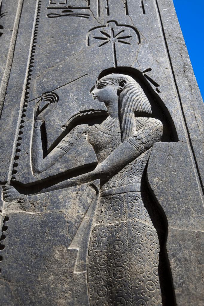 Hieroglyph of Egyptian Goddess Seshat