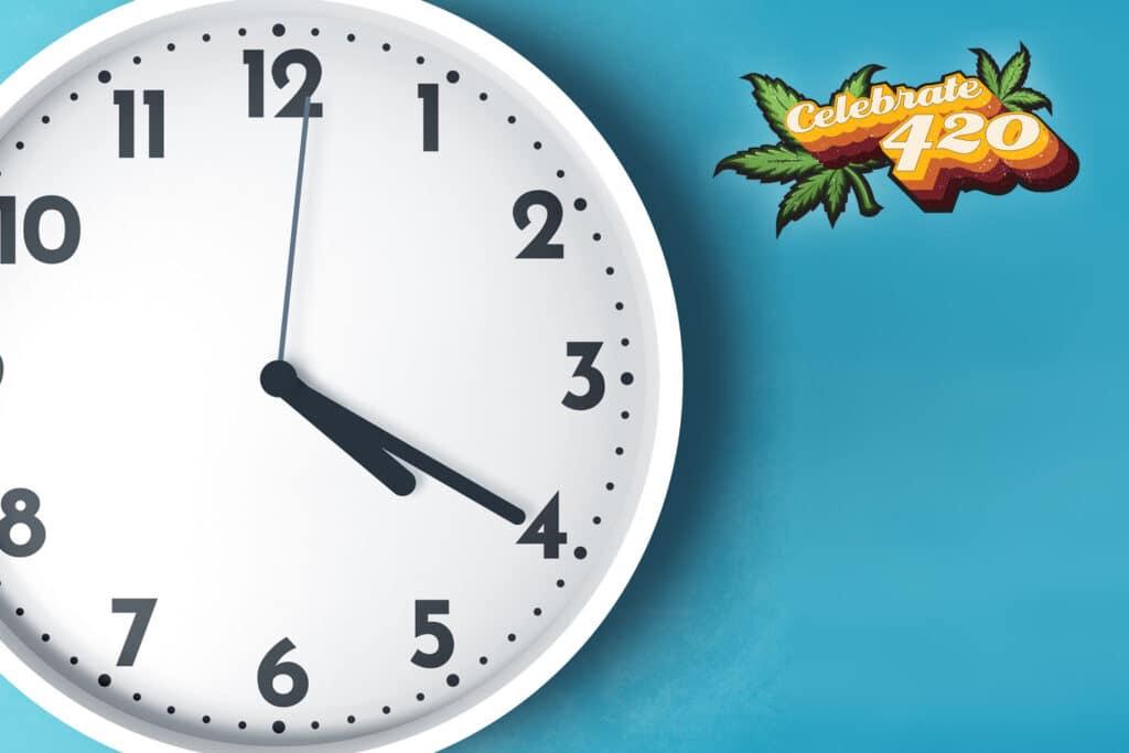 Clock set to 4:20