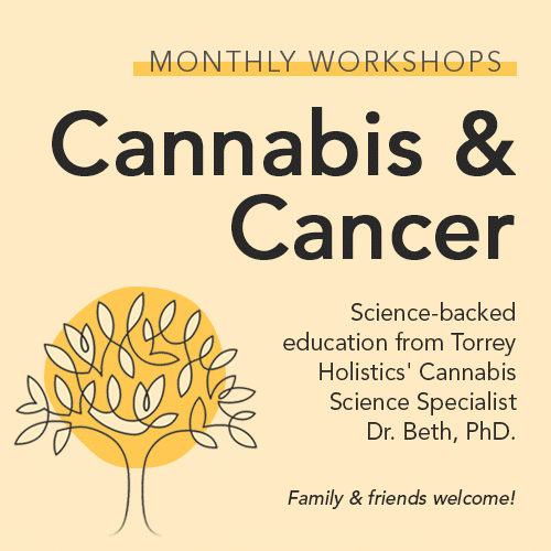 Cannabis & Cancer monthly workshops