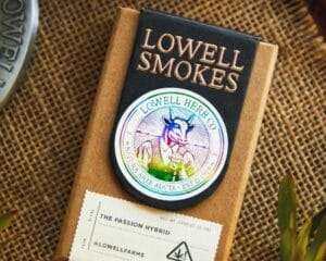 Lowell Herb Co. Passion Hybrid Pre-Roll Pack Pride