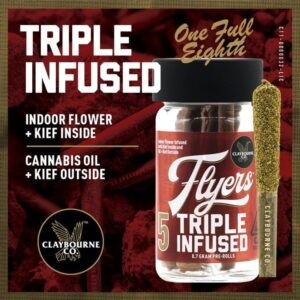 Claybourne Triple Infused Flyers