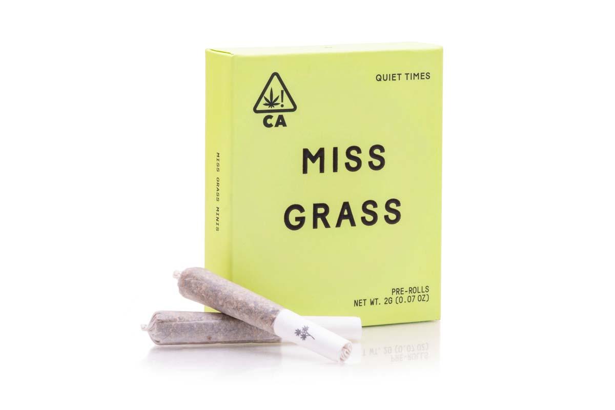 Miss Grass pre-rolls