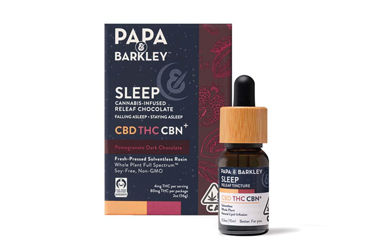 Papa & Barkley Sleep Chocolate and Tincture