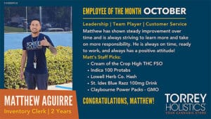 Employee of the Month - October
